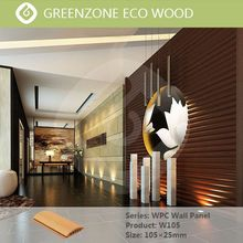 Popular indoor green building material interior decorative wpc wall panel board