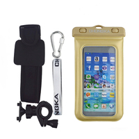bike holder waterproof case for huawei ascend p7
