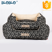Warm color orthopedic dog bed bed sheets with dog print