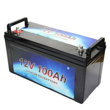 Custom RV Marine lithium ion battery 12v 100ah with BMS