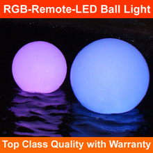 40-50-60CM 2017 new RGB rechargeable Bar Decorations led outdoor furniture lighting up rgb floating glowing ball