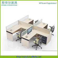 office partition, modular office workstation, wooden office cubicle design