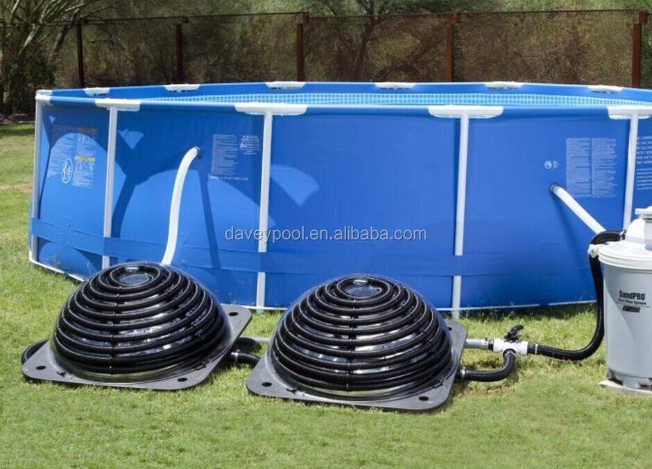 Portable Solar Water Heater : Dvsh portable pool solar heater buy