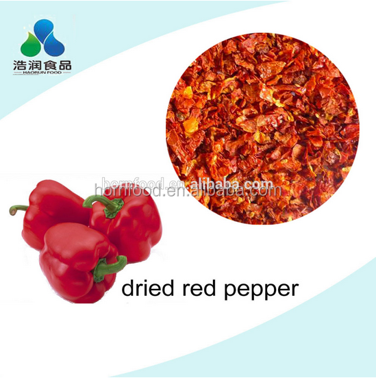 Dry vegetable /dry red bell pepper /fresh vegetable
