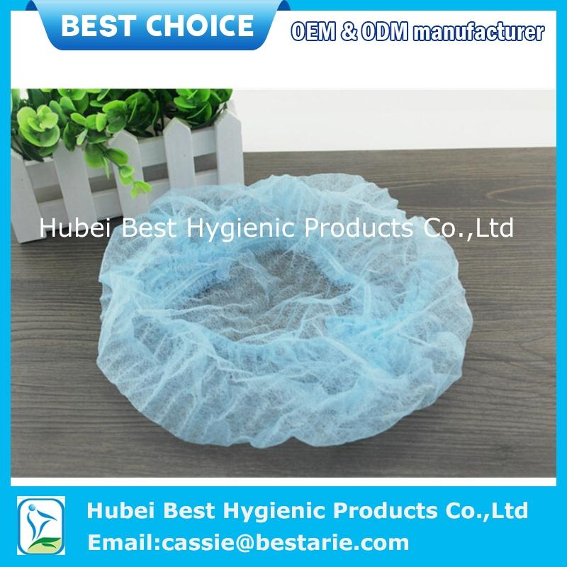 Xiantao Factory disposable surgeon/doctor cap with elastic/tie