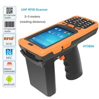 Data Capturing And Processing Pistol UHF RFID Barcode Scanner