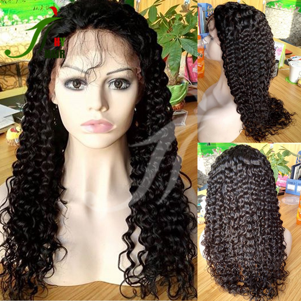 Free sample doll wig for american girl doll wigs for sale cheap In stock curly human hair full lace wig in dubai