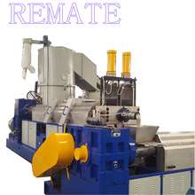 Recycling Industial waste virgin plastic granulator recycling pelletizing machines