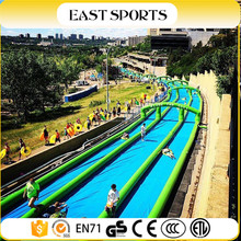 Commercial inflatable water park, cheap inflatable water floating slide, inflatable slip n slide for adult