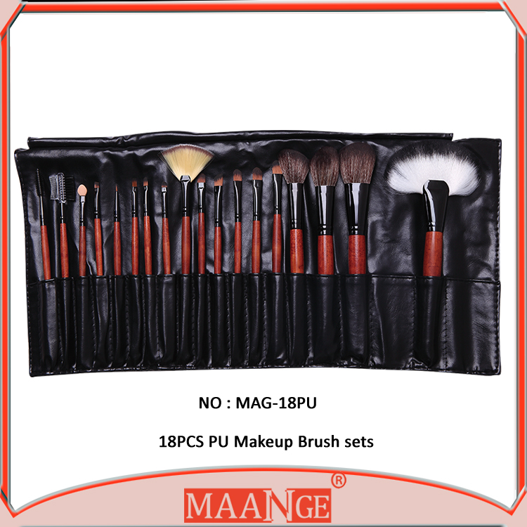 Selling fast most popular makeup cosmetic brushes,makeup brush set,private label makeup brush 18pcs/set makeup tools
