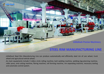 wheel rim production line