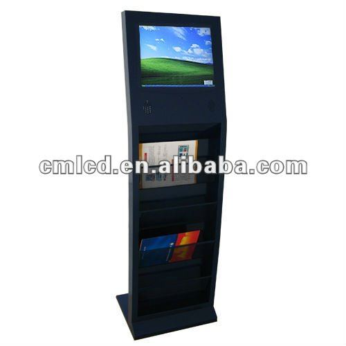 17 inch lcd all in one kiosk(aspect ration 4:3,1280 x 1024 optimal A+lcd panel)