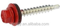 Supply high quality zinc coating painted patta self drilling screws -self drill screw 4.8X35