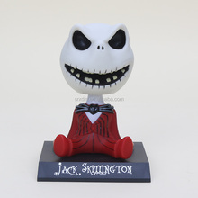 New design custom Collectible 10cm Anime Red and Black Nightmare Bobble Head PVC Action Figure