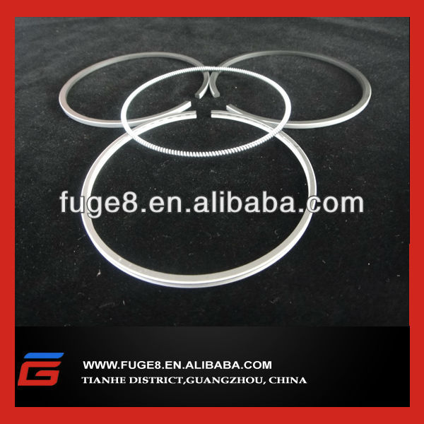 Volvo piston ring set D6D excavator engine parts