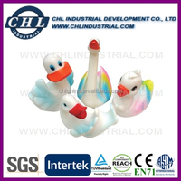 Factory wholesale logo printed bath toy