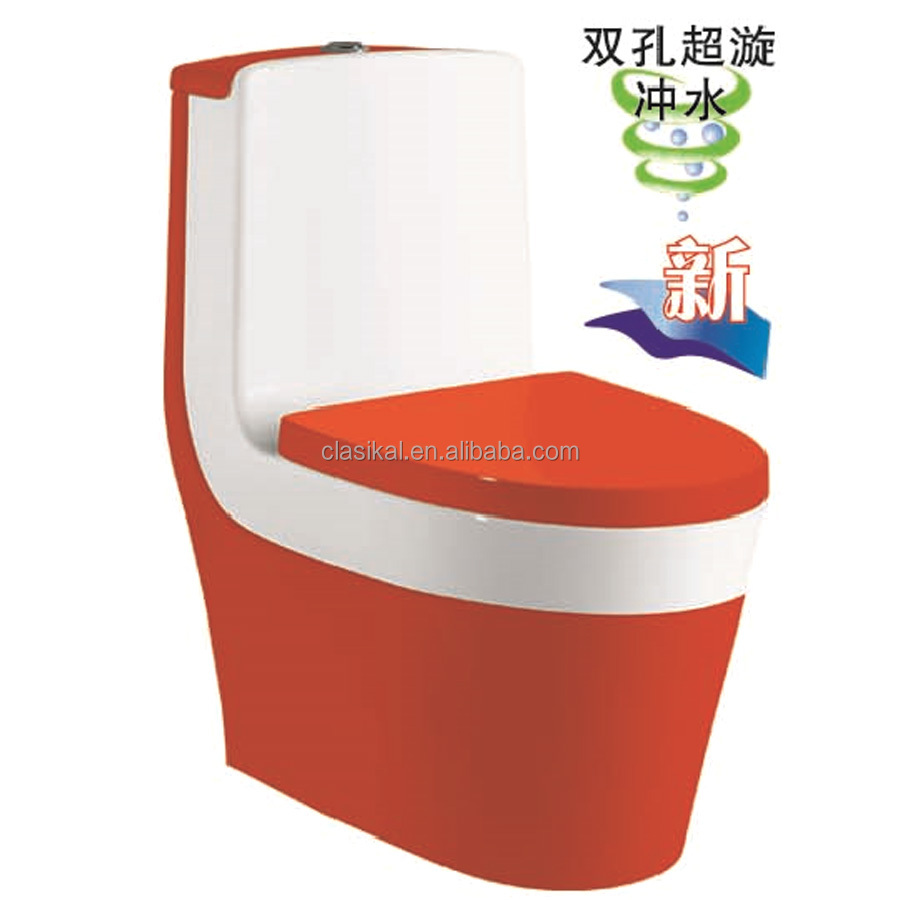 Good quality sanitary ware products one piece siphonic luxury toilet