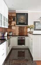 Modular Project Affordable Modern U-shaped HPL Kitchen Cabinets
