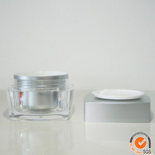 200g old round acrylic cream jar sample containers 15g plastic jars