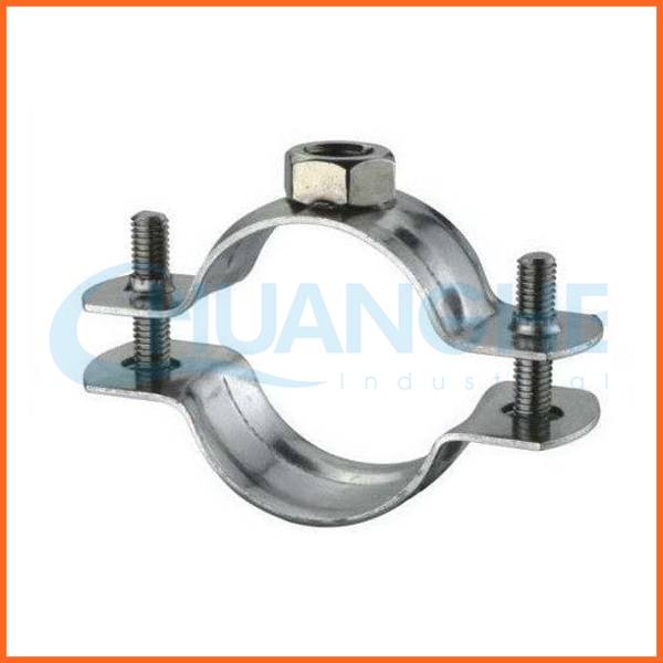 Chinese suppliers stainless steel quick release pipe clamp