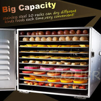 Fruit dehydrator food dryer machine