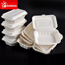 Fully compostable lunch box