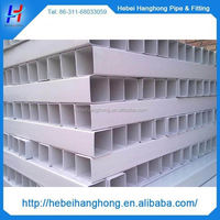 "Trade Assurance Manufacturer Building material Construction material 4"" plastic square pipe"