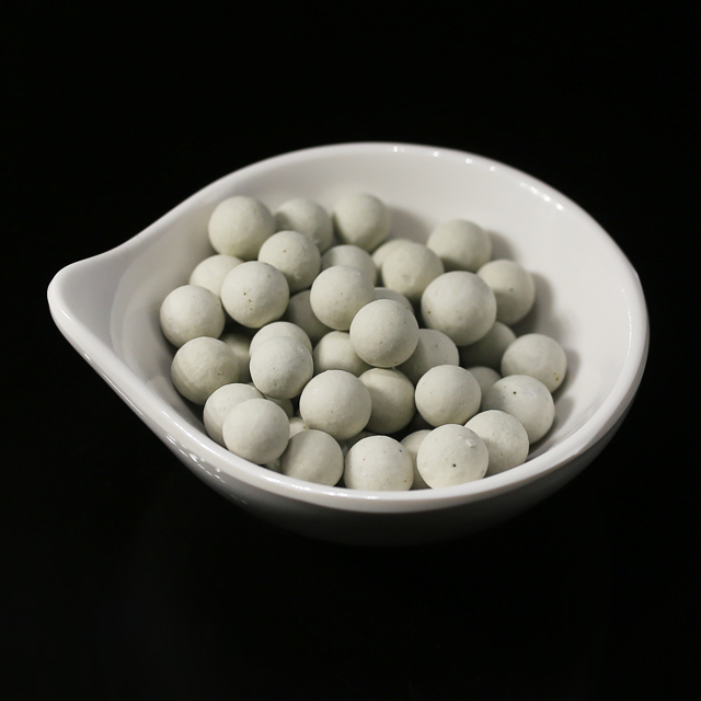 High Efficiency Al2O3 Beads 23%-25% Inert Alumina Ceramic Balls