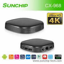 Full HD android dvb-s2 digital tv receiver Android 4.4 quad core smart tv box