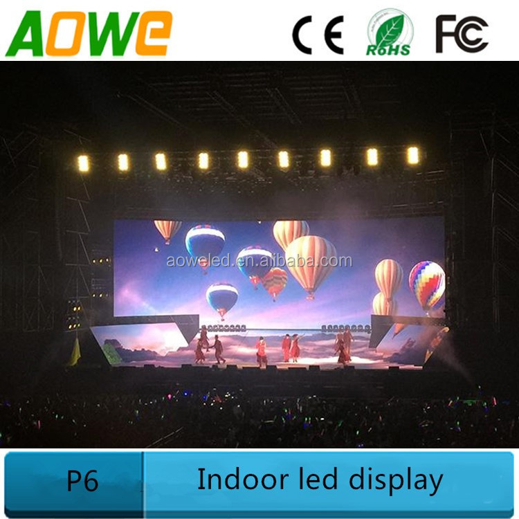Jumbotron rentals modular display for concert backdrop led screen