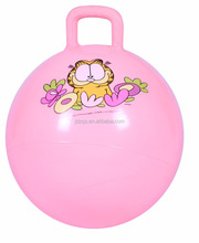 PVC Hopper Ball With Handle For Kids