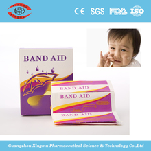 First aid band aid bandage plaster strip from China production factory