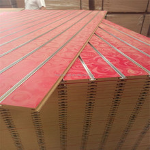 melamine mdf slotted board panel 15 slots slatwall panel slotted mdf wall board