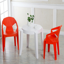 hot selling modern economic round plastic table