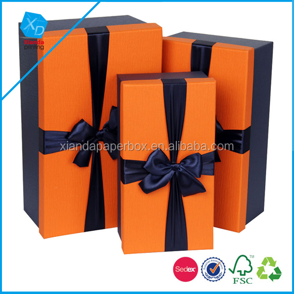 Business box Original Chinese wind Silk scarves pakaging box Clothes box