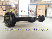 800w Electric Tricycle Trike Rear Axle 2nd Generation Three Wheel Motorcycle QiaoGuan OEM
