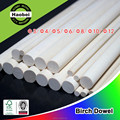 High quality China wholesales wood round birch dowels