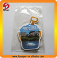 2014 new design OEM bucket shape paper car air freshener card