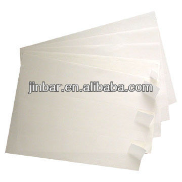 White Plain Self Adhesive Label A4 Paper Sheets