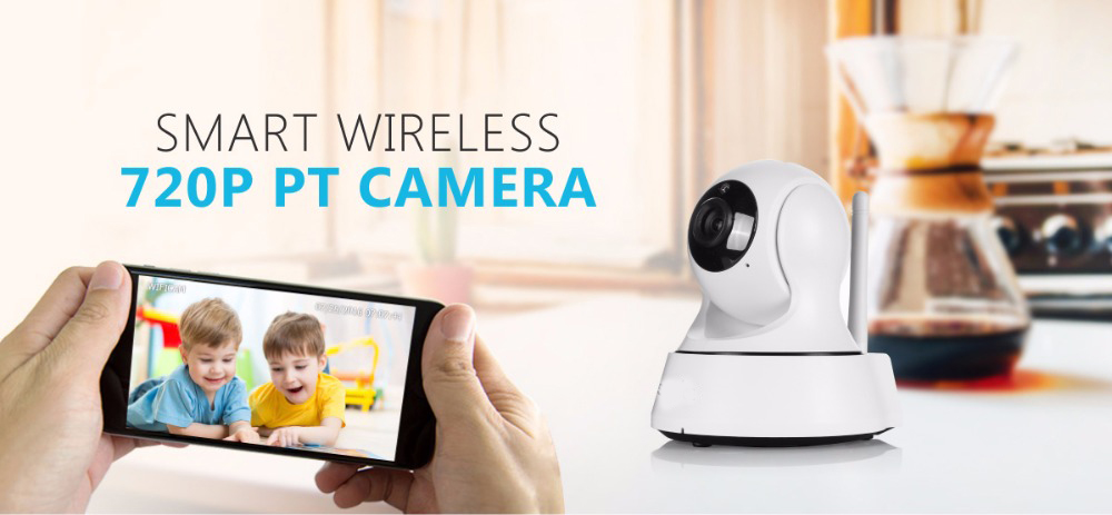 Netwoek indoor cctv SANNCE Home Security with infrared 720P cctv camera