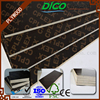 China 15mm 18mm Poplar Brown Film Faced Plywood / Concrete Formwork Plywood / Marine Plywood