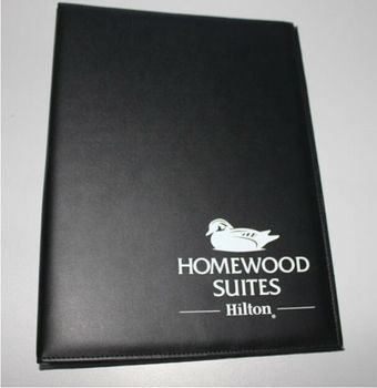 2014 Customized High Quality Functional Leather Bill Folder