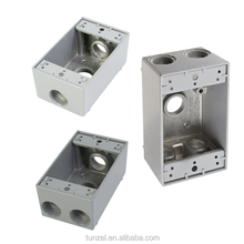 Electric aluminum FSB ONE gang junction weatherproof box by china suppliers