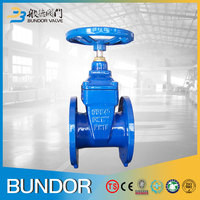 2016 China Supplier High Quality Manual Soft Seal Cast Steel Gate Valve
