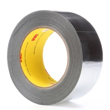 3M 363 High Temperature Aluminum Foil/Glass Cloth Tape for insulation cables