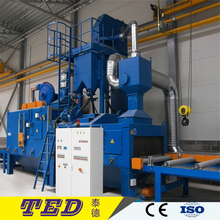 Continuous Roller Conveyor Shot Blasting Machine