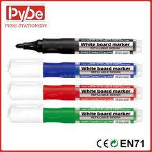 Top quality Japan tip refillable white board marker