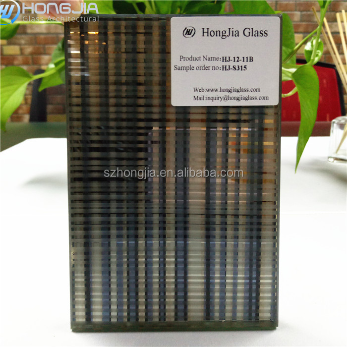 Top sell decoration design interior laminated glass