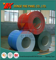 0.17*1200mm Color Coated Prepainted Galvanized Steel Coil/yike shandong