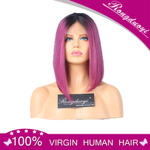 Cheap ombre color bob full lace wig low price